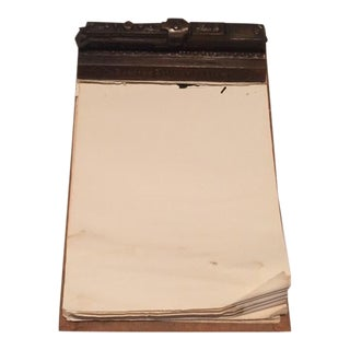 Vintage Reading Railway Advertising Desk Pad For Sale