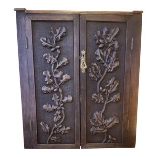 Black Forest Corner Cabinet For Sale