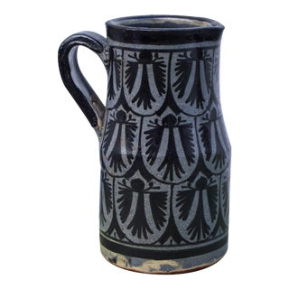 Moroccan Ceramic Pitcher For Sale