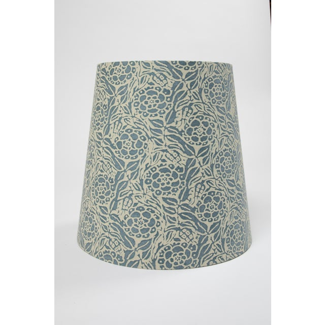 Contemporary Fortuny Lamp Shade in Fiori For Sale - Image 3 of 5