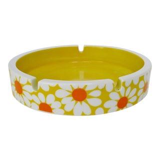 Flower Power Porcelain Ashtray For Sale