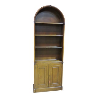 Vintage Beacon Hill Regency Mahogany Bookcase For Sale