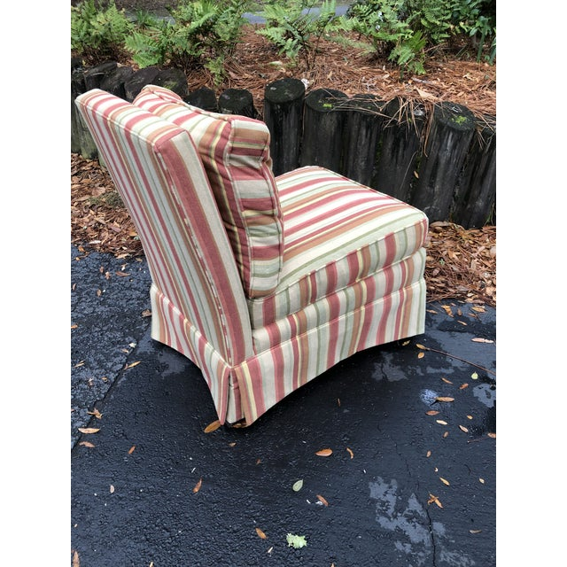 Modern Vanguard Furniture Down Filled Slipper Chair For Sale In Charleston - Image 6 of 8