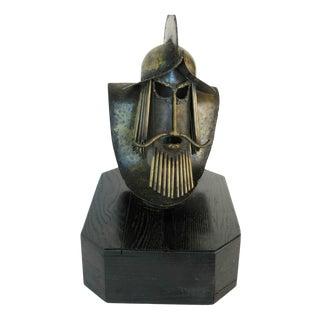 Brutalist Sculpture Conquistador / Don Quixote 1960s For Sale