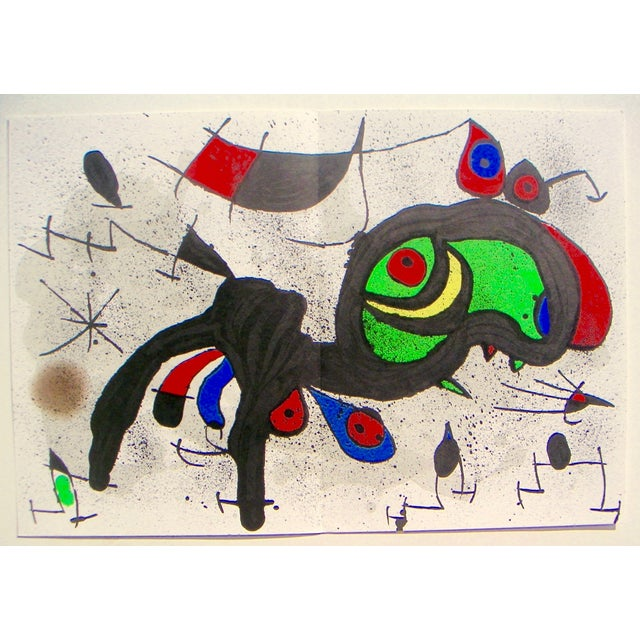 Miró Ram Original Color Lithograph - Image 3 of 3