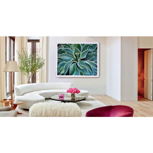 Sensuous Succulent Painting - Image 3 of 10