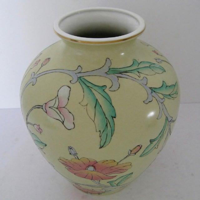 Ceramic Ginger Jar Vase - Image 3 of 6