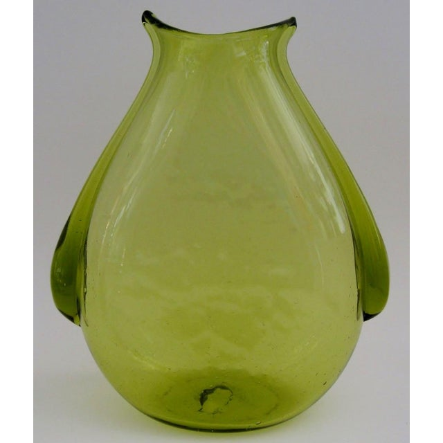 Vintage Blenko Glass Vase Chairish