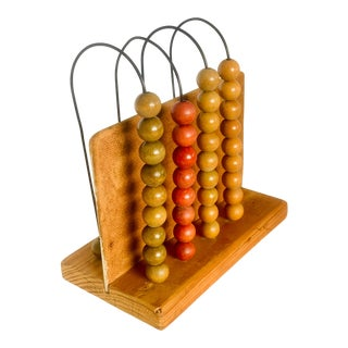 Vintage Folk Art Toy Abacus For Sale
