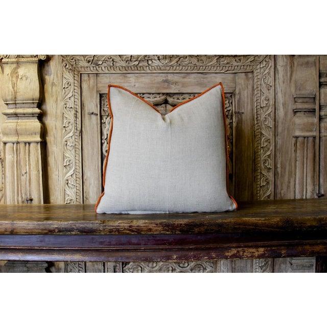 Tribal Antique Utsav Reshmi Sutra Pillow For Sale - Image 3 of 4