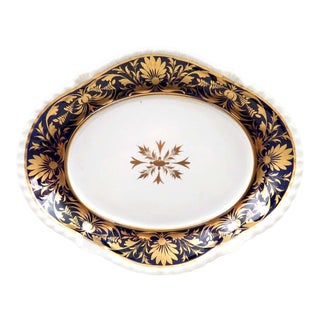 Antique Royal Crown Derby Candy Dish, Circa 1806