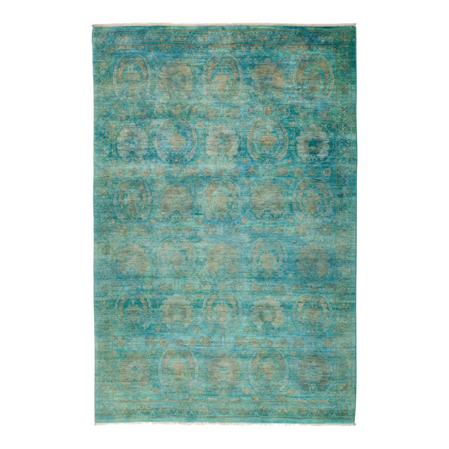 """Vibrance Hand Knotted Area Rug - 6' 2"""" X 9' 2"""" - Image 1 of 4"""