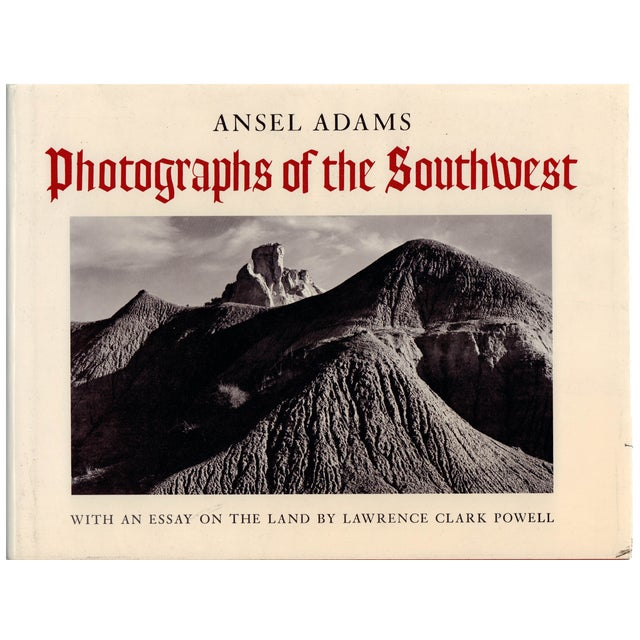 """""""A. Adams: Photographs of the Southwest"""" Hardcover - Image 1 of 2"""