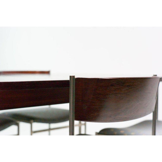 Mid-Century Modern Rosewood Dining Set by Cees Braakman for Pastoe For Sale - Image 3 of 10