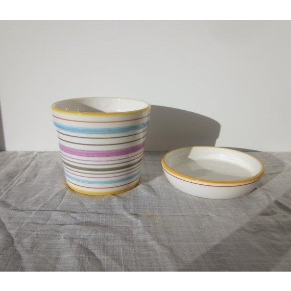 Tiffany & Co Planter Pot and Saucer - Image 4 of 6