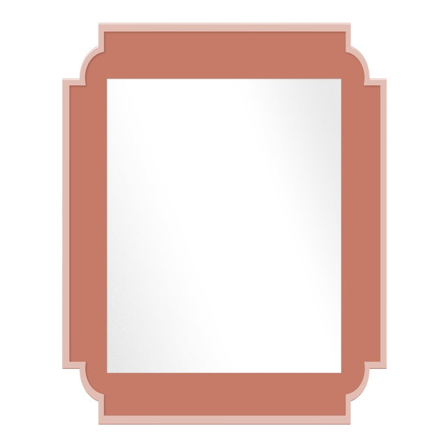 Fleur Home x Chairish Camp Mirror in Red Earth, 24x36 For Sale
