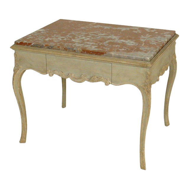 Louis XV Painted Occasional Table - Image 1 of 9