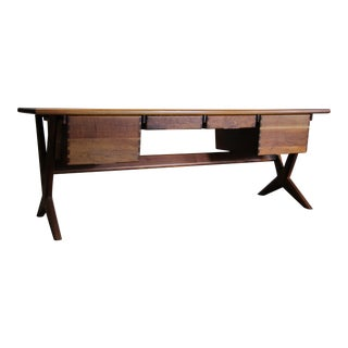 1970s Studio Executive Desk by Jim Sweeney for Espirit For Sale