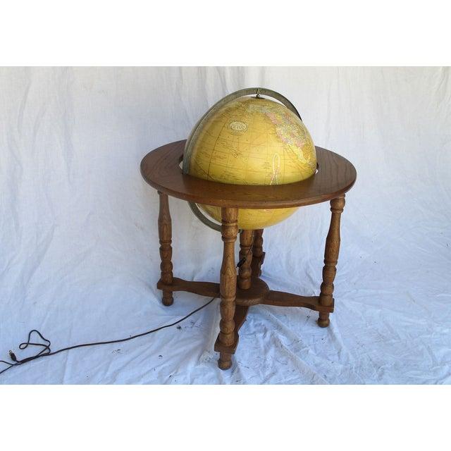 """Cram's Since 1876"" Vintage Electrified Globe - Image 6 of 6"