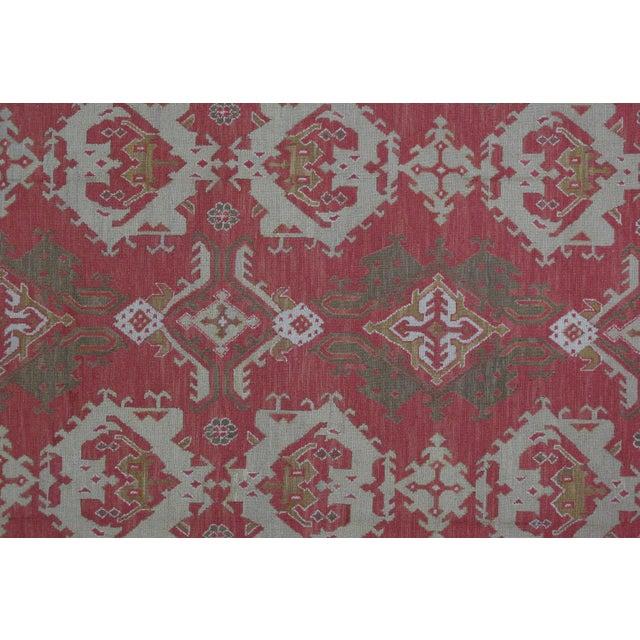 Soumak Design Hand Woven Wool Rug - 9' X 12' - Image 2 of 5