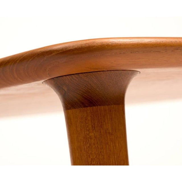 1960s DUX Mid-Century Teak Guitar Pick Tables - A Pair For Sale - Image 5 of 9