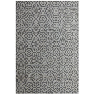 Modern Aara Rugs Inc Hand Knotted Natural Wool Gabbah Rug- 10′ × 13′8″ For Sale