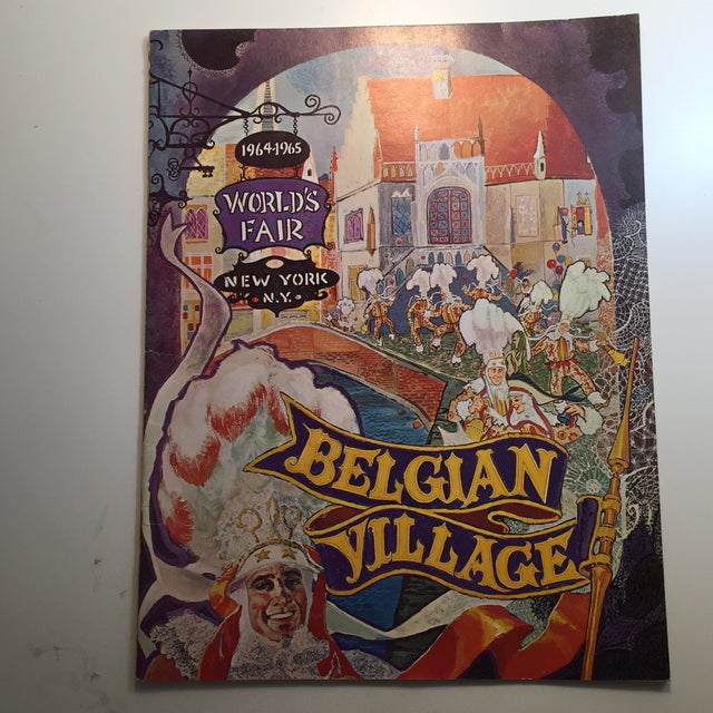 1964 World's Fair Belgian Village Book - Image 2 of 8