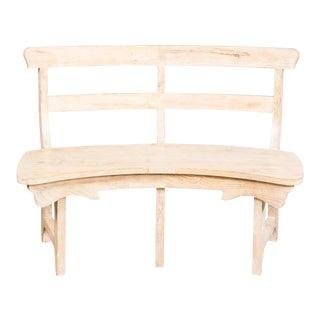 Sarreid Ltd. Nelson Curved Bench