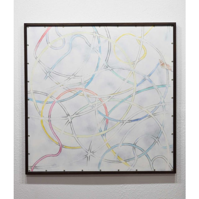 Larry Locke, (American, 1960), Acrylic on Canvas, Dated 2019 For Sale - Image 10 of 10