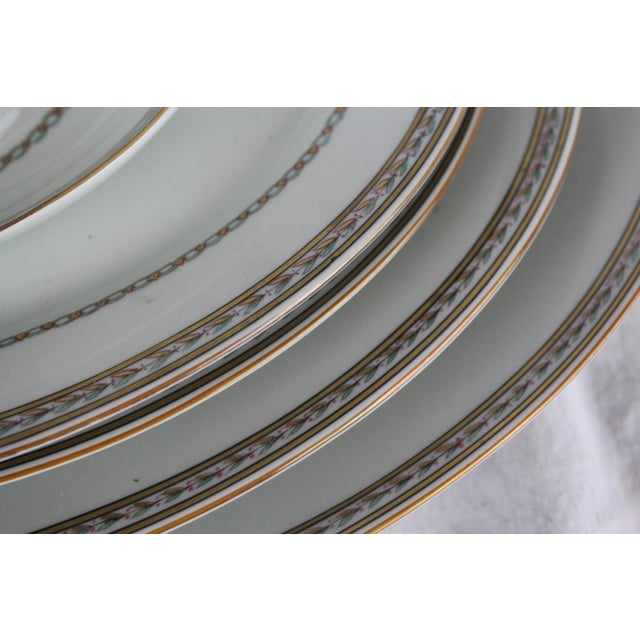 Vista Alegre Vista Alegre Platters & Gravy Boat - Set of 6 For Sale - Image 4 of 8