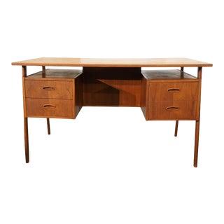 Danish MCM Teak Desk - Vimur For Sale