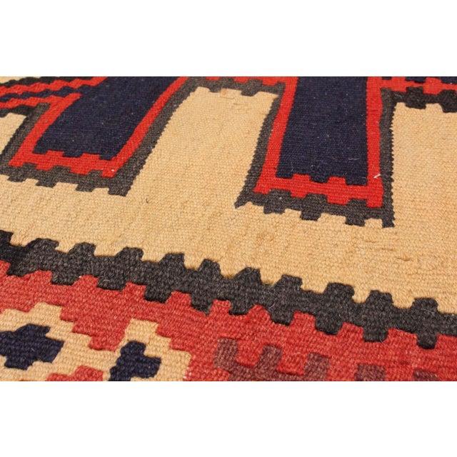 "Tribal Persian Kilim Rug - 5'5"" X 9'9"" - Image 2 of 2"