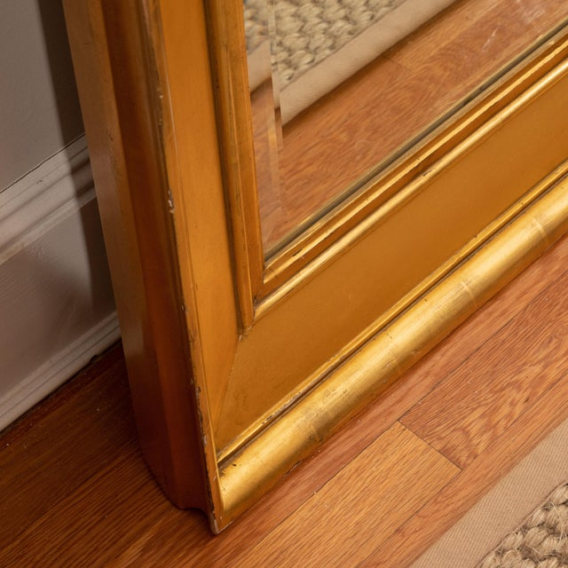 Late 19th Century Tall Giltwood Mirror For Sale - Image 5 of 6