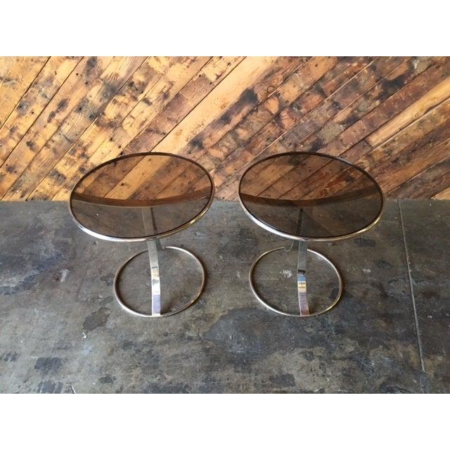 Gardner Leaver for Steelcase Side Tables - Pair - Image 7 of 7