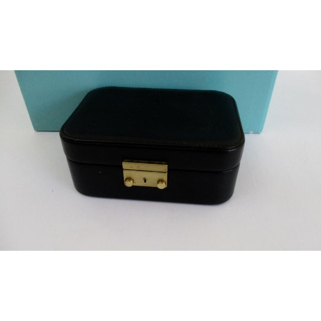 82ee0bb95 Tiffany & Co. Black Leather Jewelry Box Case For Sale In Phoenix - Image 6
