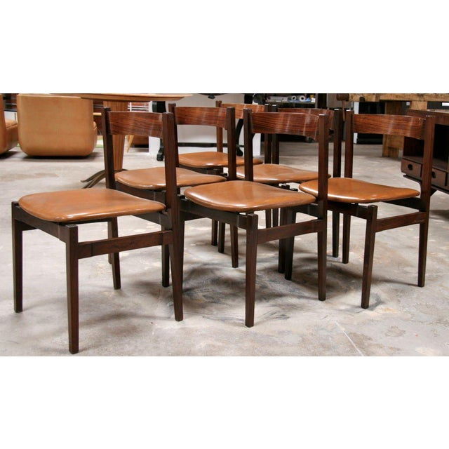 Six Gianfranco Frattini Chairs For Sale - Image 10 of 11