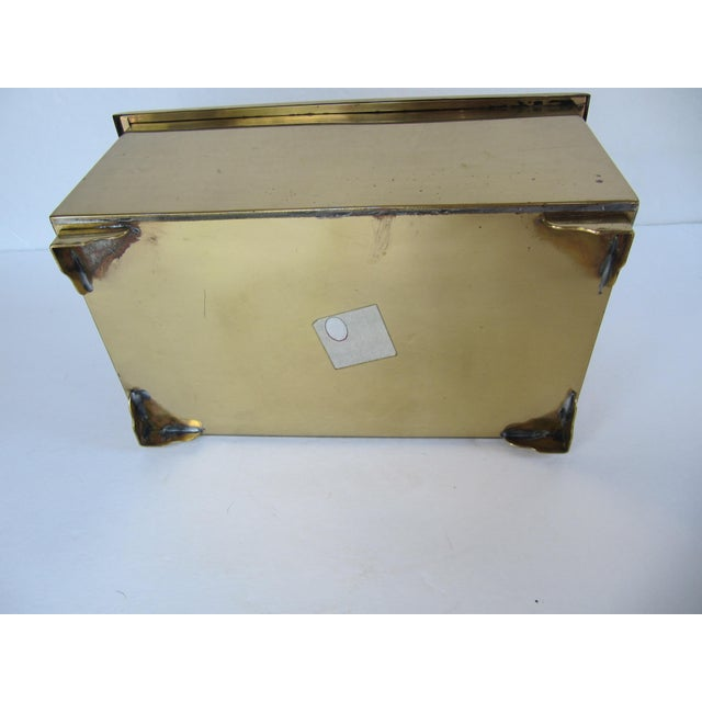 Brass Brass Lided Box For Sale - Image 7 of 13
