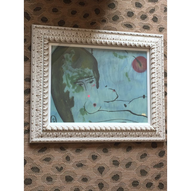 Original Nude Painting by Zoe Bios For Sale In Los Angeles - Image 6 of 9