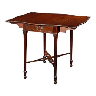 Chippendale-Style Pembroke Table For Sale