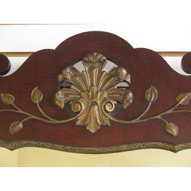 Kindel Georgian Style Mahogany Mirror For Sale - Image 5 of 11