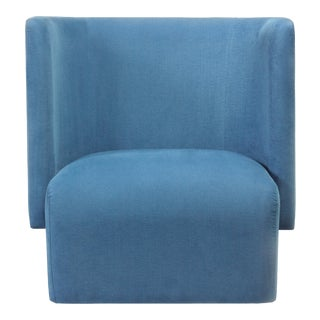 Modern Musk High Back Chair For Sale