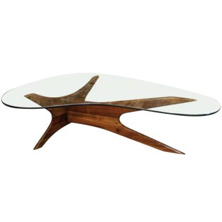 Mid-Century Adrian Pearsall Kidney Coffee Table