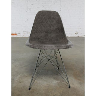 Vintage Mid-Century Modern Gray Herman Miller Eames DSR Chair Preview