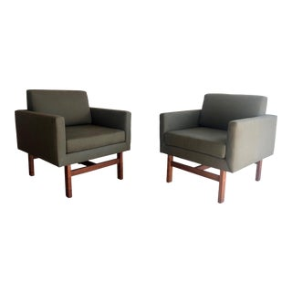 Danish Modern Lounge Chairs- A Pair For Sale