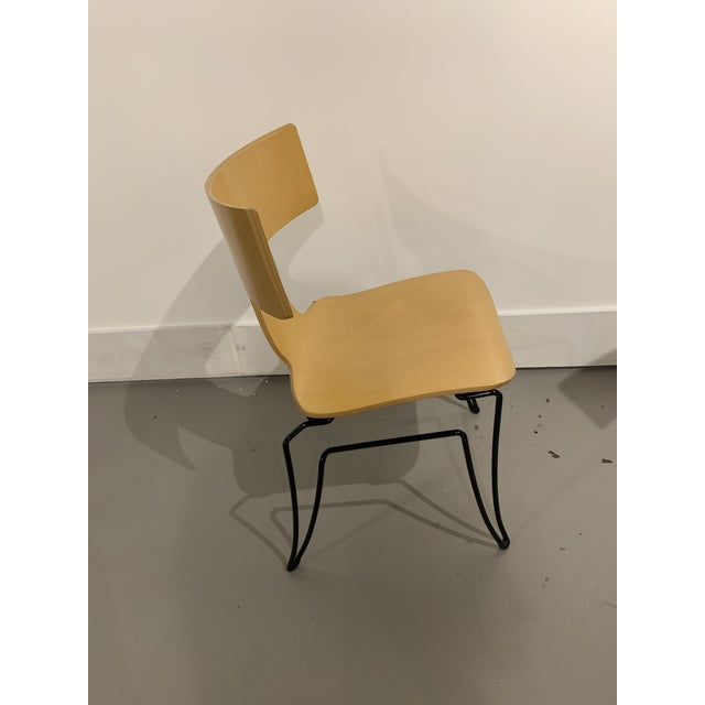 Vintage John Hutton for Donghia Anziano Dining Chair For Sale - Image 9 of 11