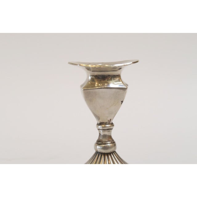 Small Silver Candlestick Holder - Image 4 of 5