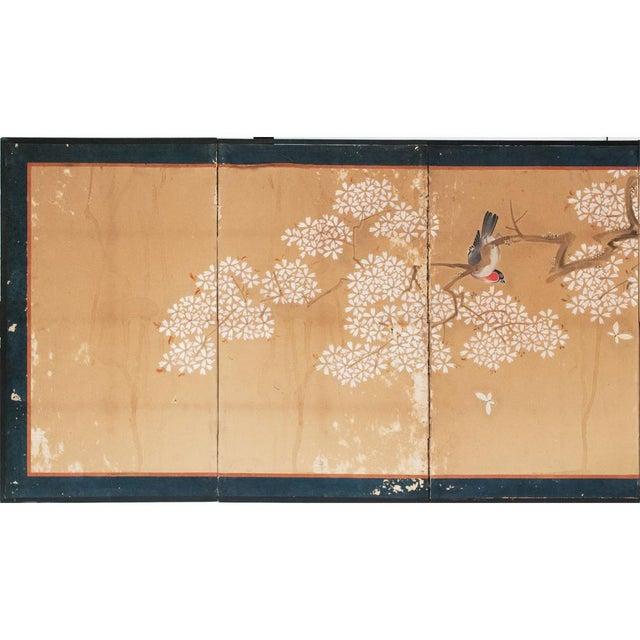 Asian 17th-18th C. Japanese Twelve-Panel Byobu Screen For Sale - Image 3 of 13