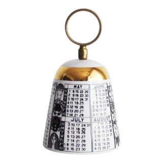 1960s Hollywood Regency Fornasetti Milano Zodiac Bell
