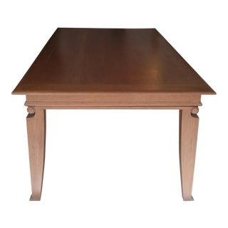 French Art Deco Andre Arbus Inspired Dining Table For Sale