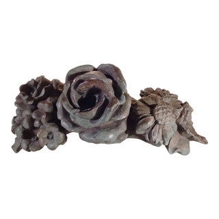 Vintage Bronze Architectural Element Home Décor